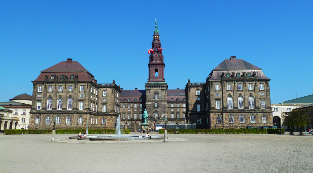 Дворец Кристиансборг, Копенгаген, Дания