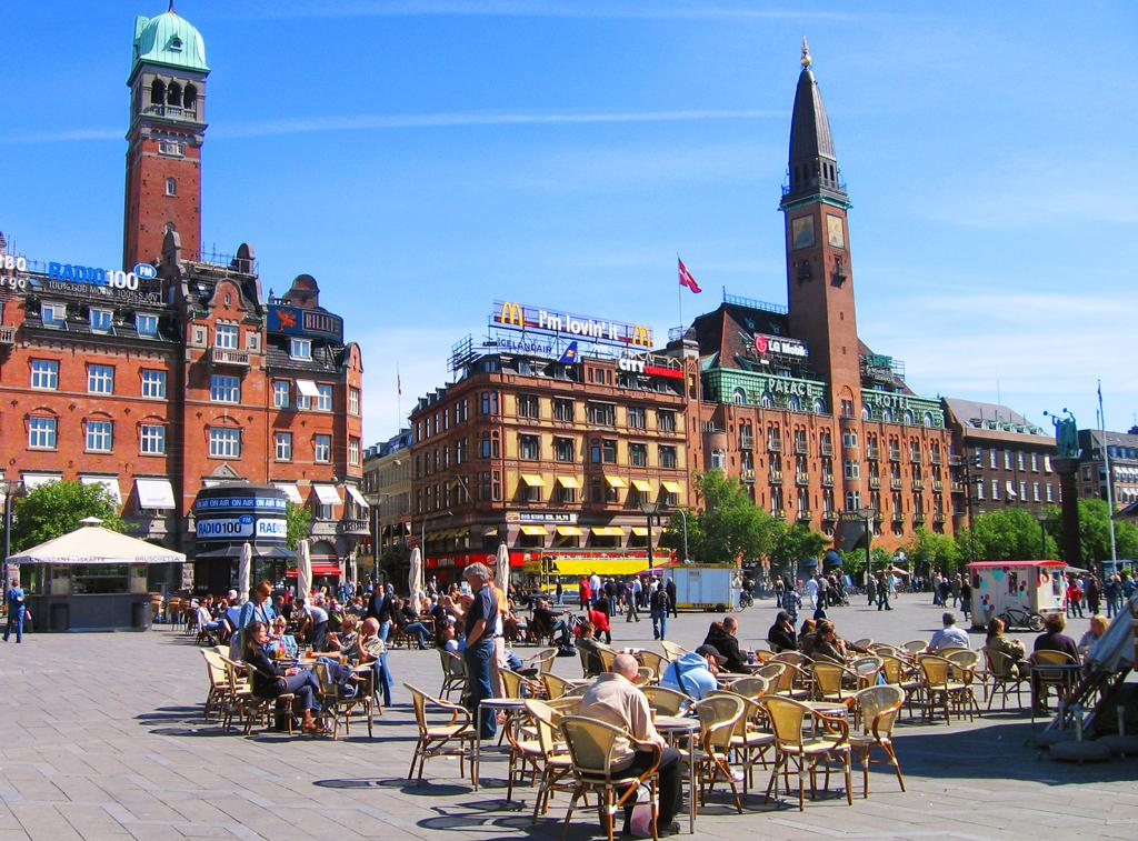 Ратушная площадь в Копенгагене