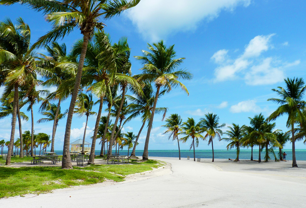 Crandon Park Beach, Майами-Бич