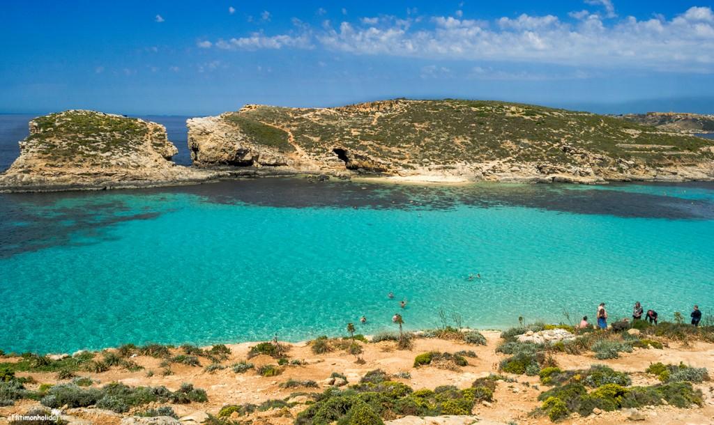 Голубая лагуна в Мальте