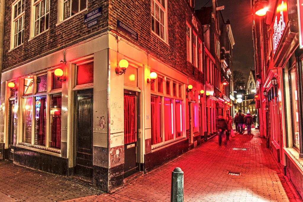 Улица красных фонарей Амстердам Голландия  YouTube