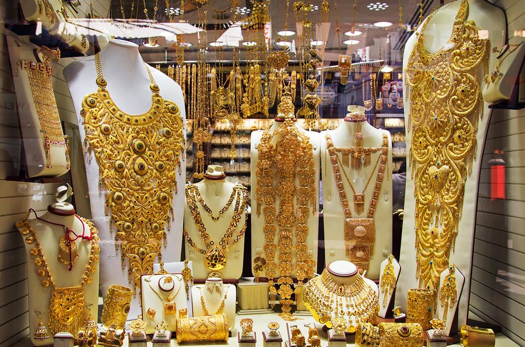 Золотой рынок в районе Дейра