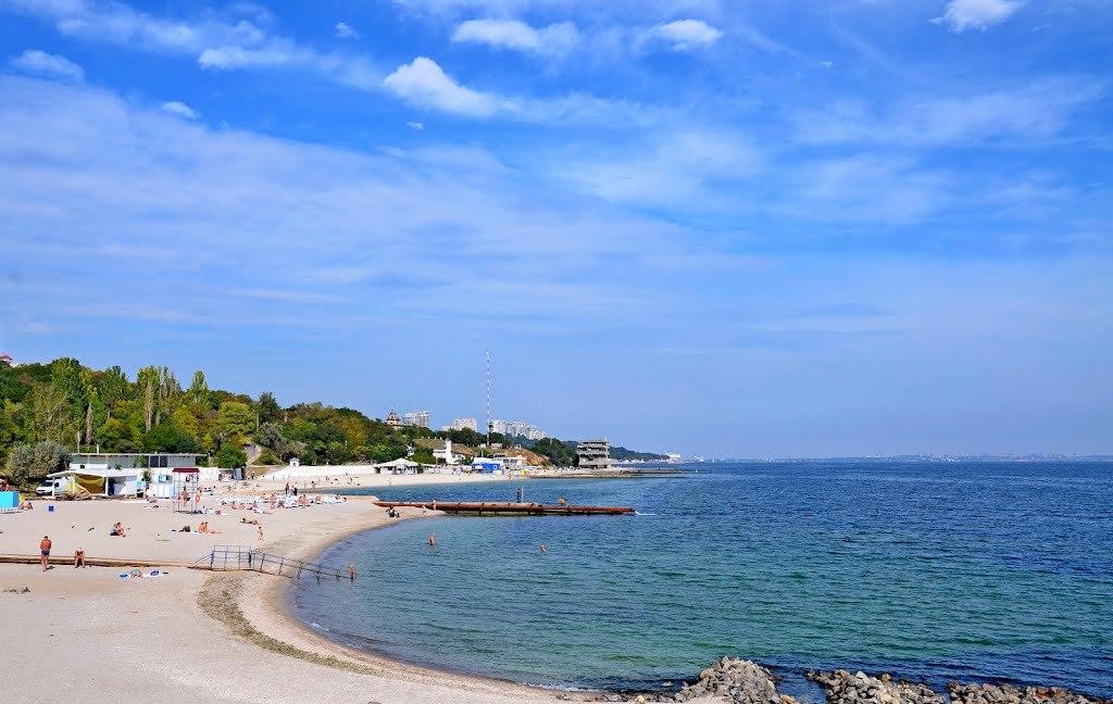 Пляж Дельфин в Одессе