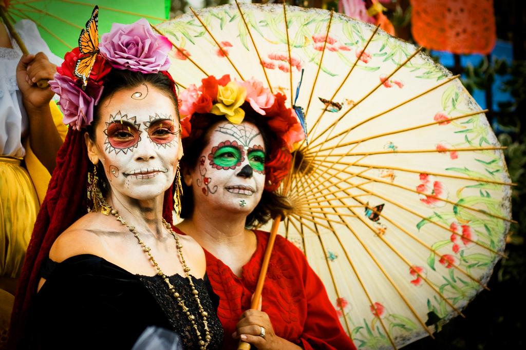 День Мёртвых, Мексика