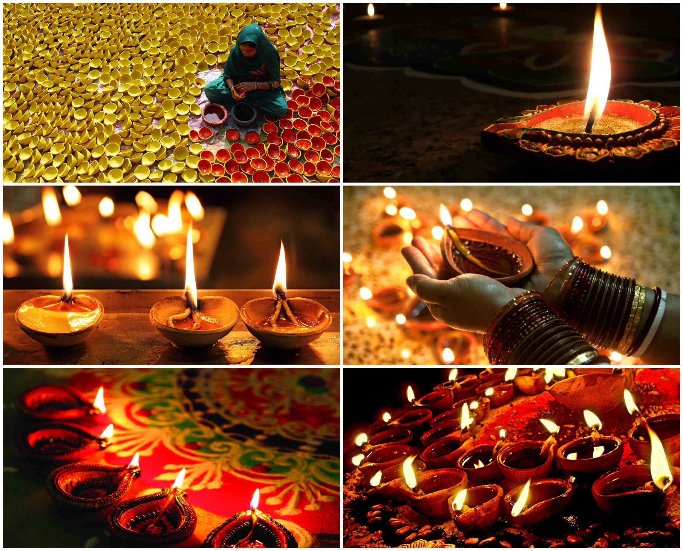 Лампады Дия для Дивали