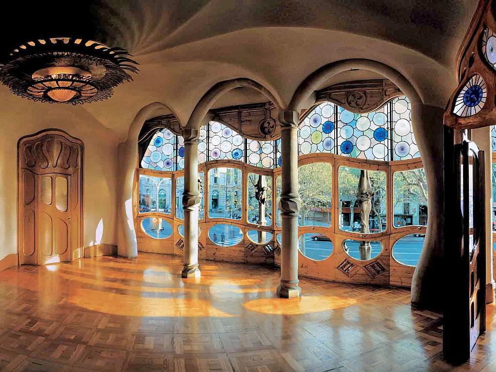 Дом Бальо - интерьер