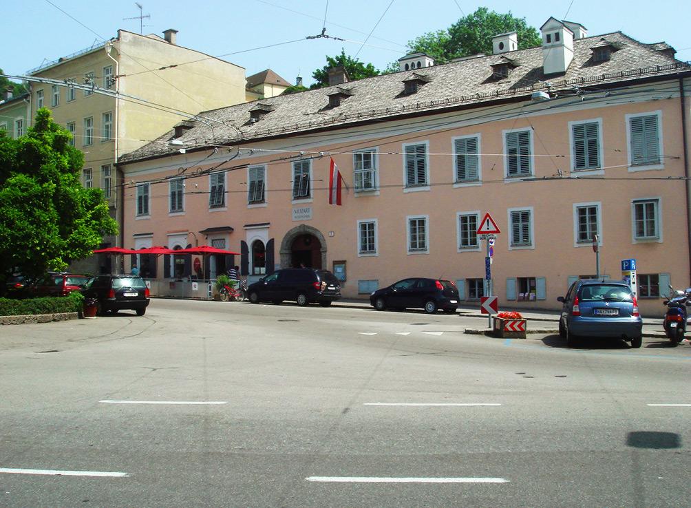 Дом Моцарта, Зальцбург