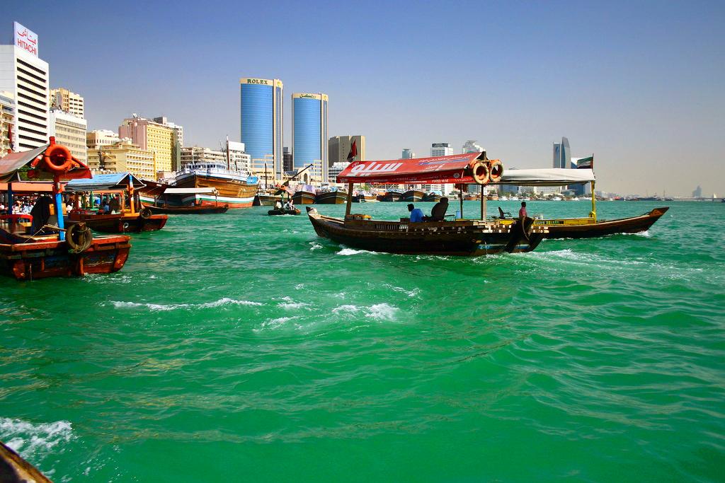 Бухта Крик в Дубаи