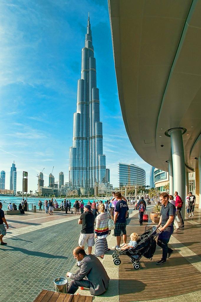 Туристы в Дубае