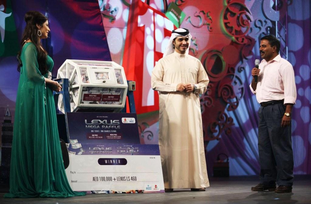Лотерея на летнем фестивале шоппинга в Дубае