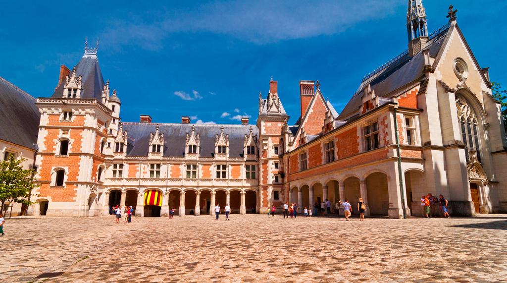 Дворец Блуа, Луара, Франция
