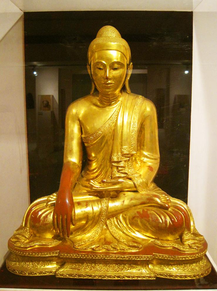 Экспонат в Национальном музее Нью-Дели