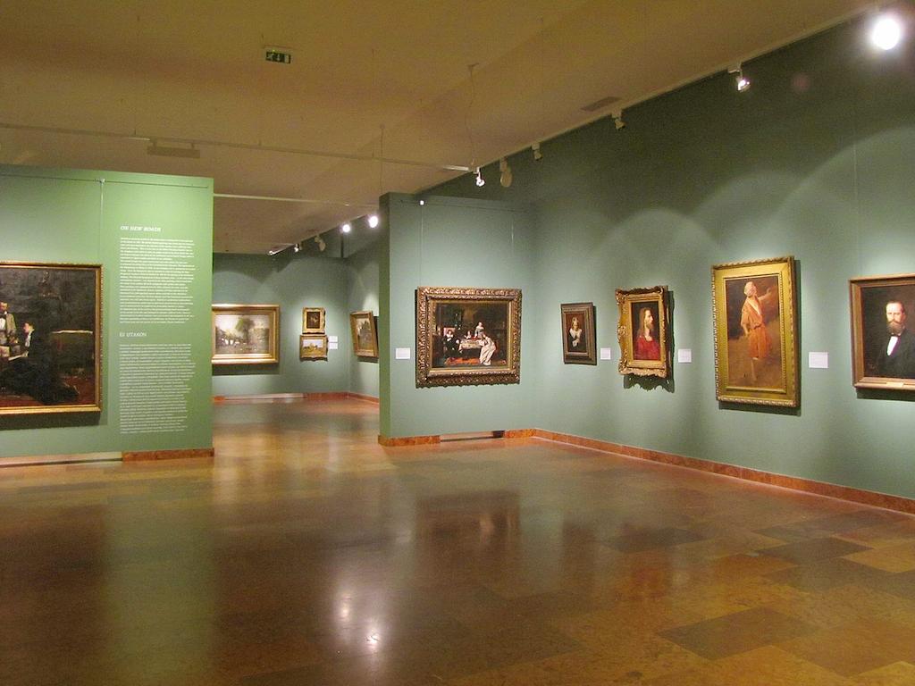 Экспозиция Венгерской национальной галереи