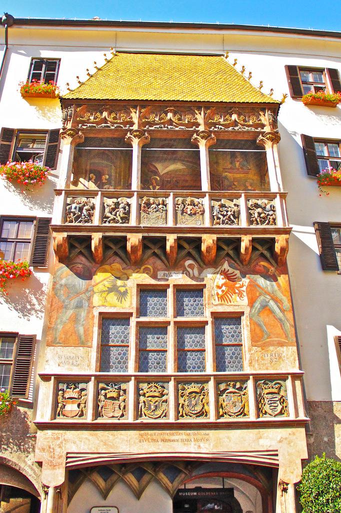 Эркер Дома с золотой крышей, Инсбрук