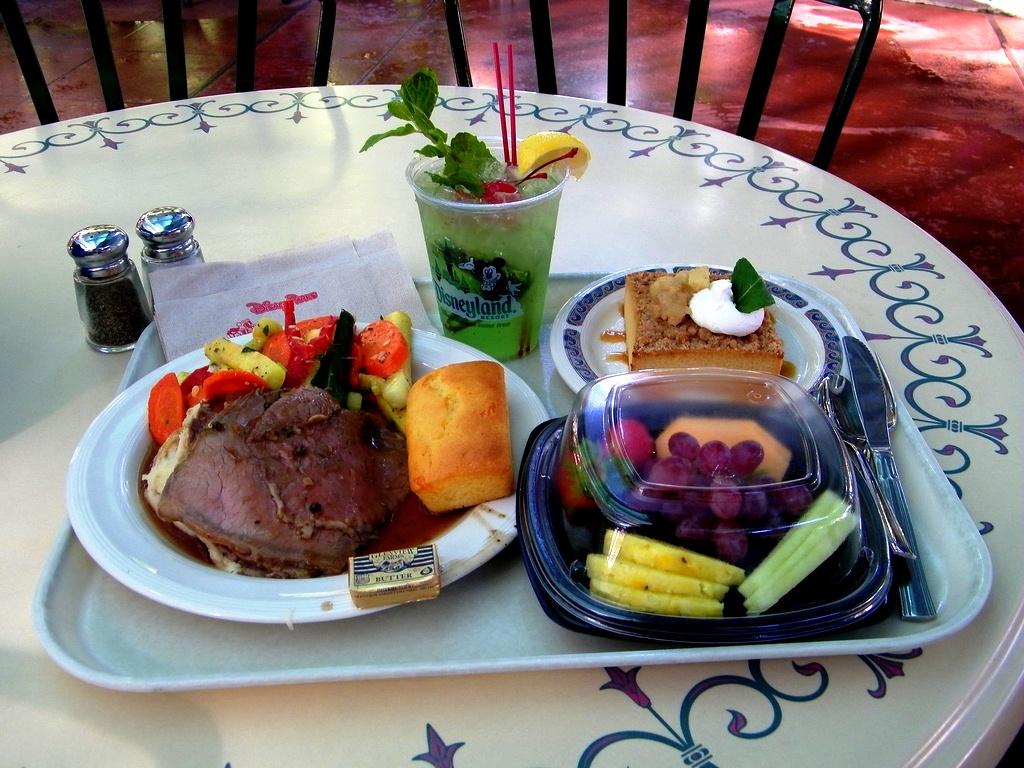 Что поесть в Диснейленде