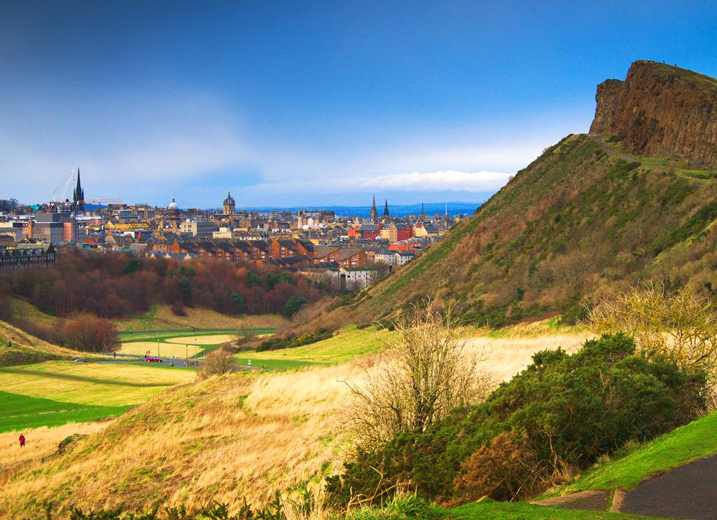 Холируд-парк и Трон Артура в Эдинбурге
