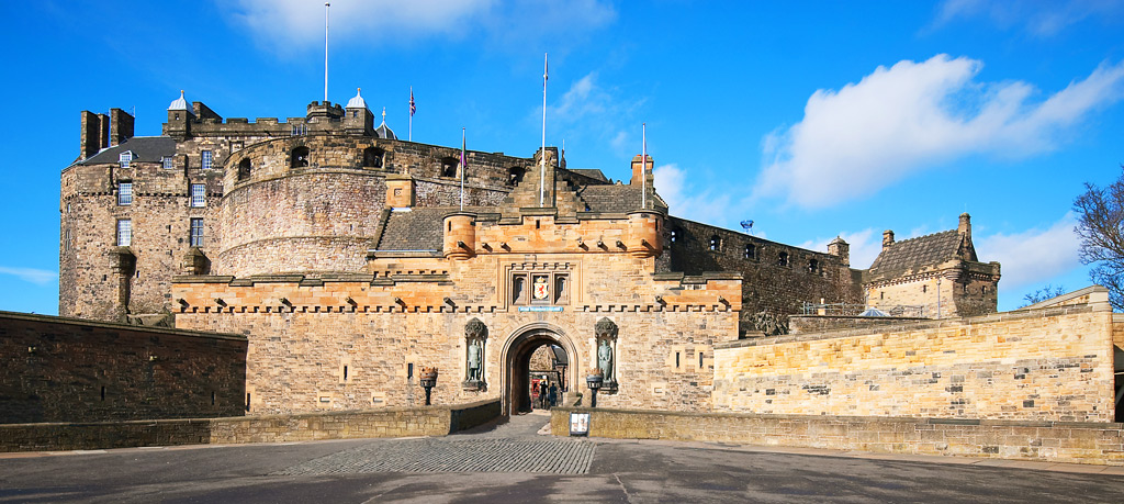 Эдинбургский замок, вход