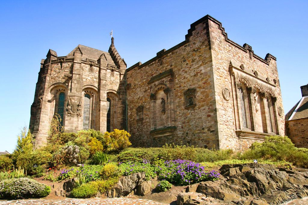 Капелла Святой Маргариты, Эдинбургский замок