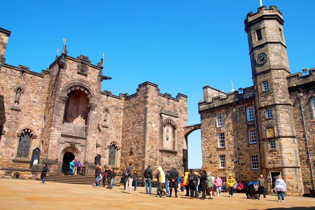 Эдинбургский замок (фото внутри замка)