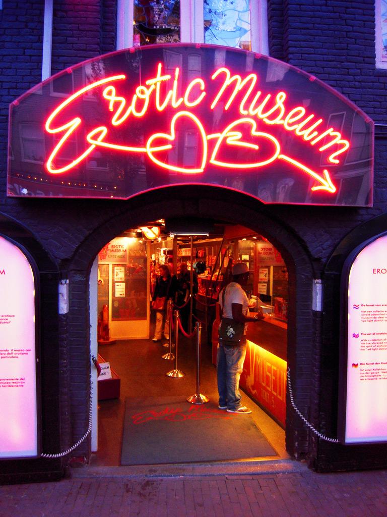 Музей секса на ул красных фонарей амстердам