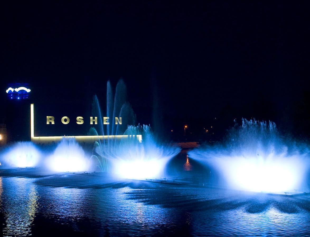 Винницкий фонтан Рошен