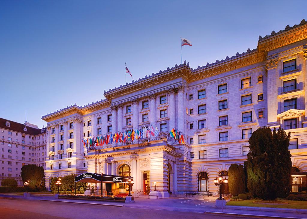 Fairmont San Francisco, Сан-Франциско, США