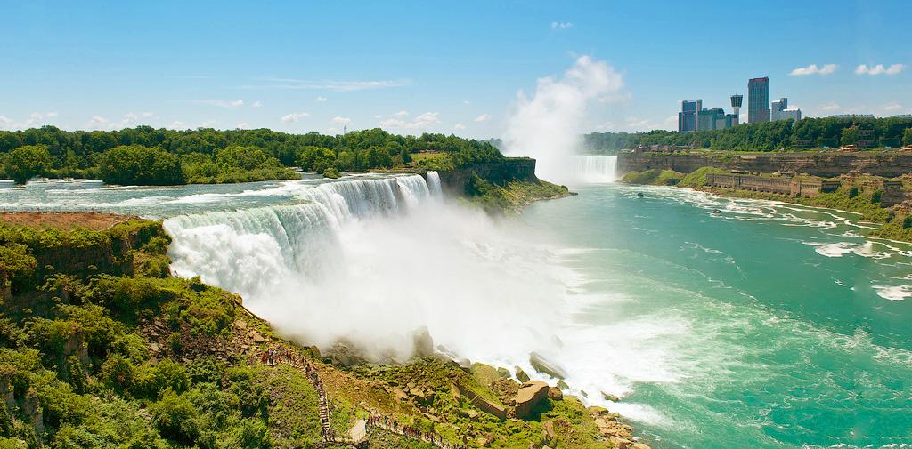 Ниагарский водопад, штат Нью-Йорк, США