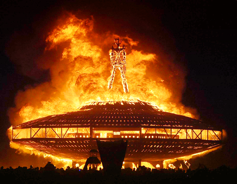 Фестиваль Burning Man, США