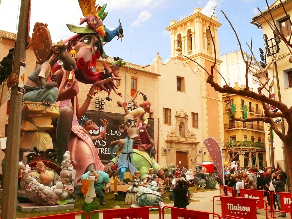 Фестиваль Лас Фальяс, Валенсия