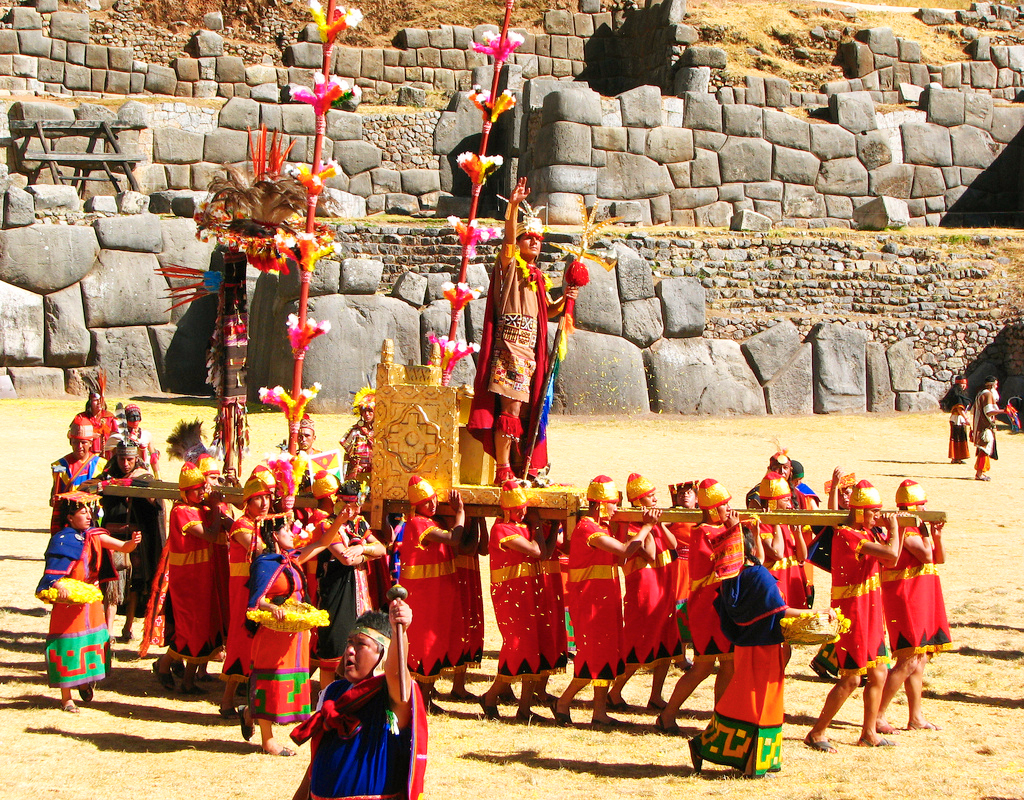 Фестиваль солнца Инти Райми в Перу
