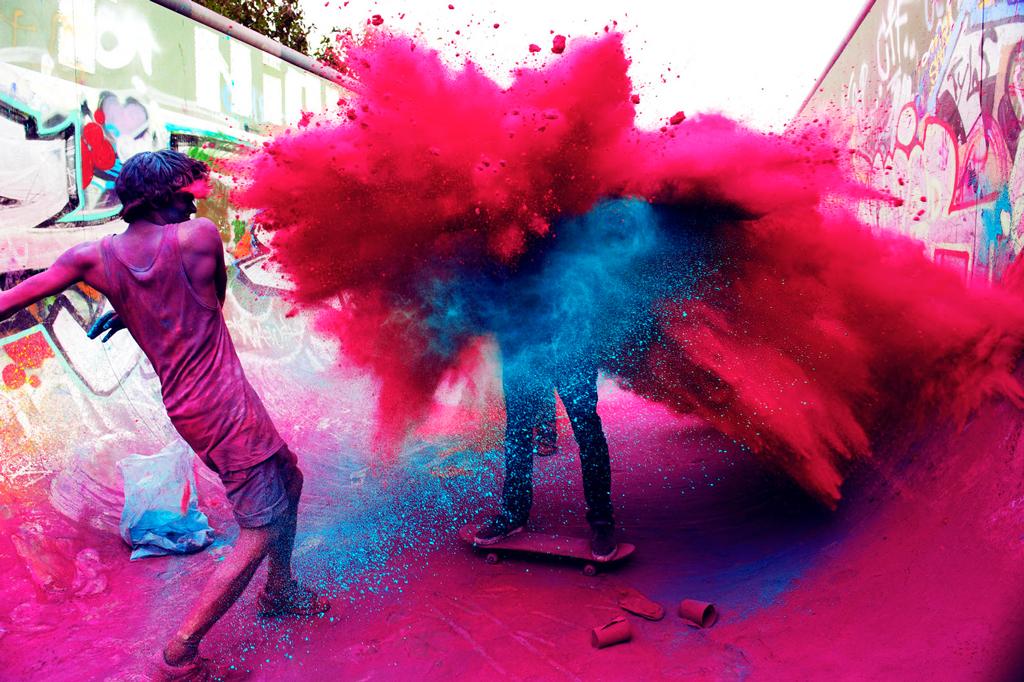 Фестивали Холи, Индия
