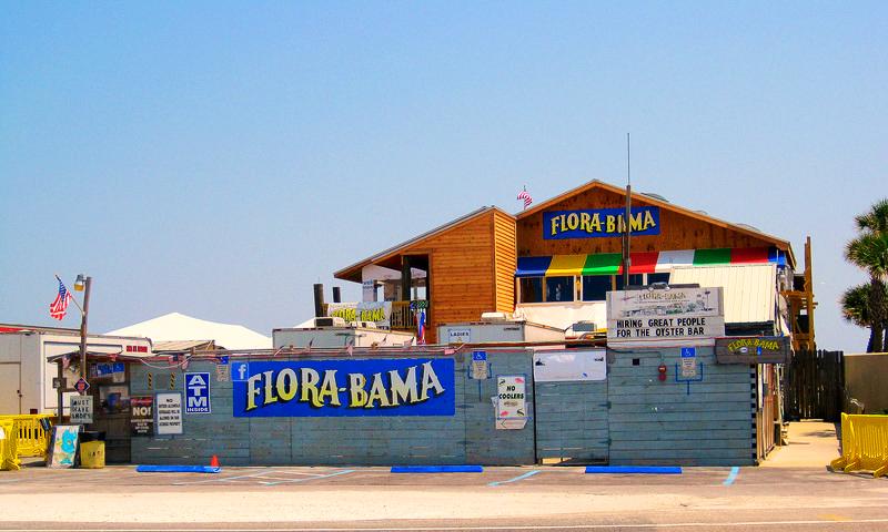 Flora-Bama Lounge, Пенсакола, Флорида, США