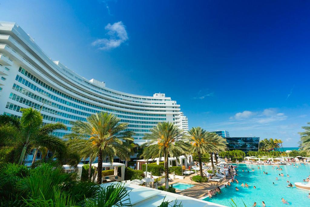 Fontainebleau Miami Beach, Майами-Бич, США
