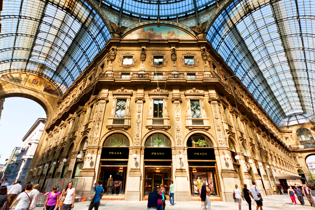 Galleria Vittorio Emanuele II в Милане