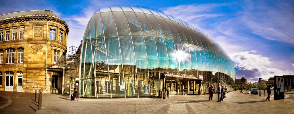 Вокзал Ля Гар в Страсбурге