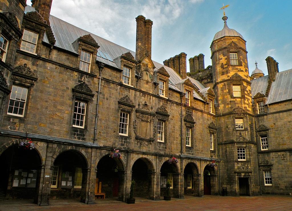 Школа George Heriot's School в Эдинбурге