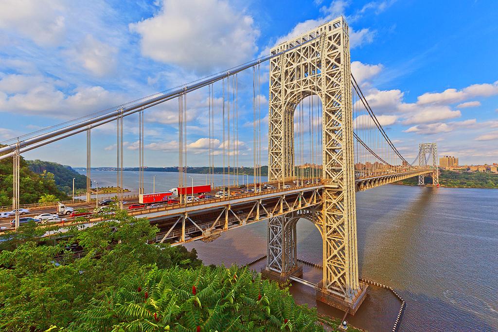 Мост Джорджа Вашингтона, Нью-Йорк, США