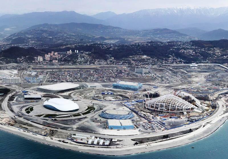 Главная Олимпийская деревня в Сочи