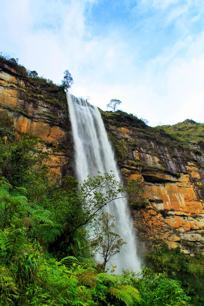 Водопад Гокта, Перу