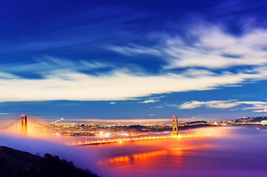 Мост «Золотые ворота», Сан-Франциско, штат Калифорния
