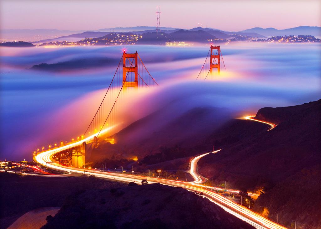 Мост «Золотые ворота» в Сан-Франциско