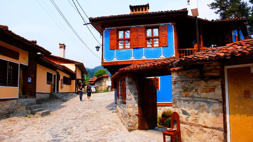 Город Копривштица, Болгария