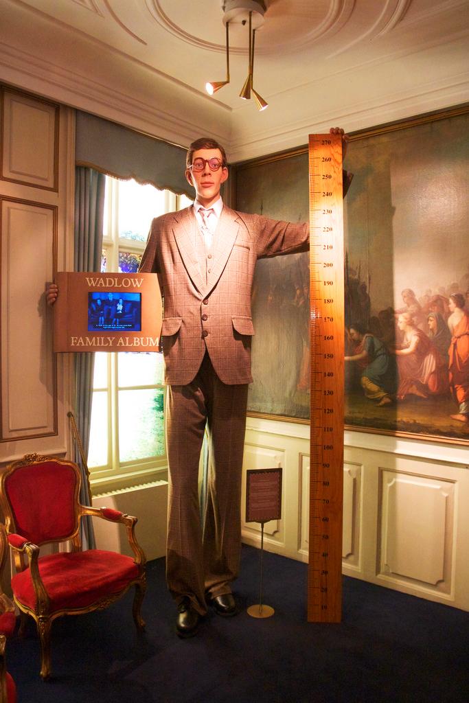 Один из экспонатов в Музее рекордов Гиннесса в Копенгагене
