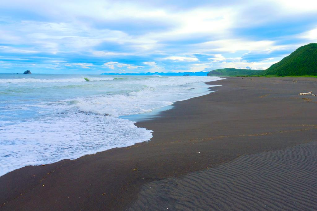 Халактырский пляж, Камчатка, Россия