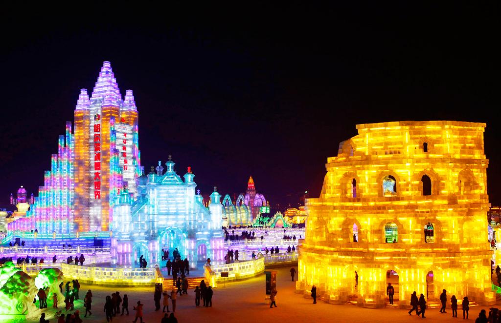 Международный фестиваль льда и снега, Харбин, Китай