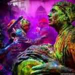 Праздник Холи в Индии 2016: как это было