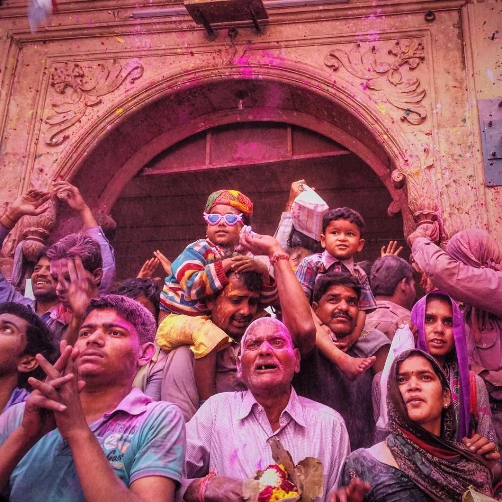 Праздник взаимной любви и цветов Холи, Индия