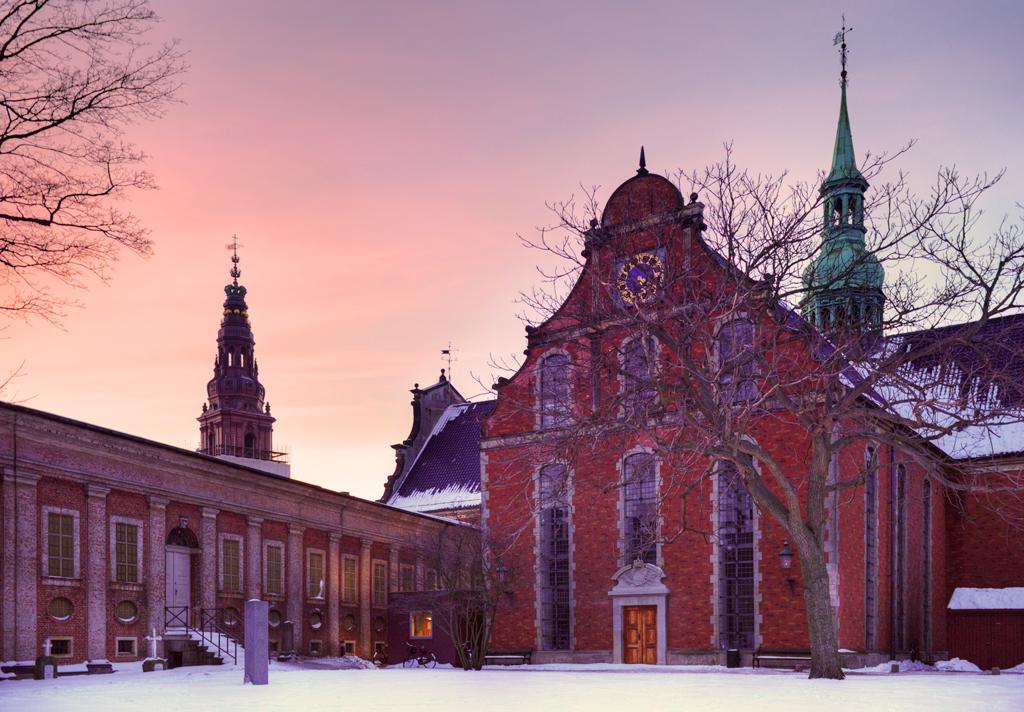 Флотская церковь (Holmens Kirke) в Копенгагене