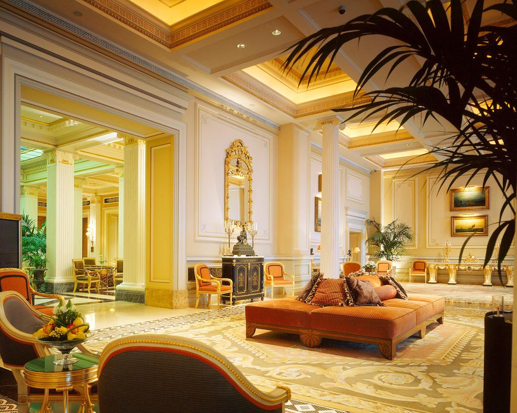 Hotel Grande Bretagne, лобби, Афины