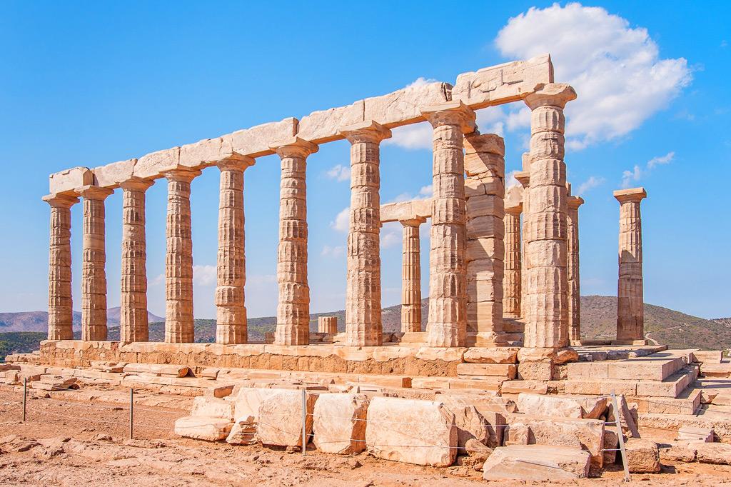 Храм Посейдона, Афины